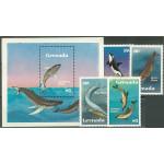 Grenada 1197-1200 + block 112 **