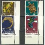 Liechtenstein 644-647 **