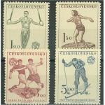 Tjeckoslovakien 671-674 **