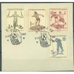 Tjeckoslovakien 671-674 stämplade