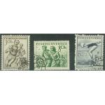 Tjeckoslovakien 856-858 stämplade
