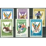 Rumänien 3542-3547 **