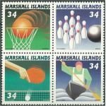 Marshall Islands 1476-1479 ** 4-block