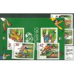 Bulgarien 3825-3828 + block 209 **