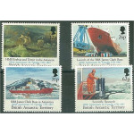 British Antarctic Territory 189-192 **