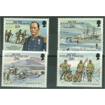 British Antarctic Territory 140-143 **
