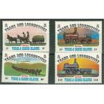 Turks & Caicos 620-623 **