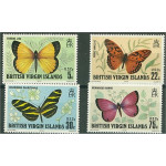 British Virgin Islands 344-347 **