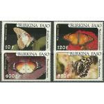 Burkina Faso 972-975 **