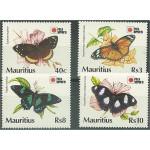 Mauritius 730-733 **