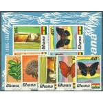 Ghana 342-346 + Block 31 *