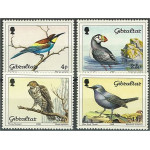 Gibraltar 552-555 **
