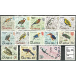 Gambia 210-222 **