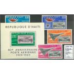Haiti 1178-1181 + block 48 **