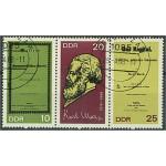 DDR 1365-1367 stämplade