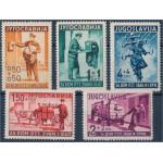 Jugoslavien 408-412 **