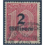 Tyska Riket D97 stämplat