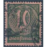 Tyska Riket D71 stämplat