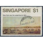 Singapore 152 stämplat