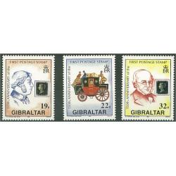 Gibraltar 598-600 **