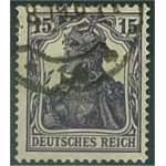 Tyska Riket 101a stämplat