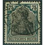Tyska Riket 104b stämplat