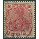 Tyska Riket 145 stämplat