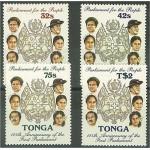 Tonga 1002-1005 **