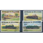 Elfenbenskusten 826-829 stämplade