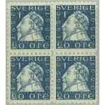 Sverige 152Cbz ** 4-block