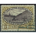 Österrike 155 stämplat