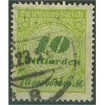 Tyska Riket 328P stämplat