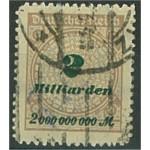Tyska Riket 326B stämplat