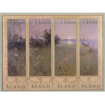 Åland 219-222 ** block