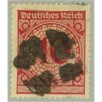 Tyska Riket 340 stämplat