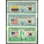 Korea 116 + 137-138 *