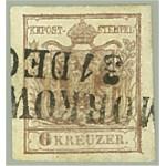 Österrike 4X stämplat