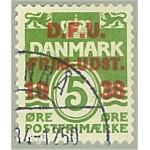 Danmark 119 stämplat