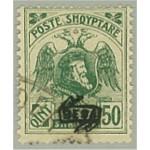 Albanien 80 II stämplat