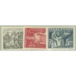 Tjeckoslovakien 594-596 **