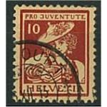 Schweiz 132 stämplat