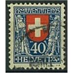 Schweiz 188 stämplat