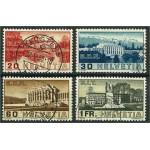 Schweiz 321-324 stämplade