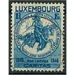Luxemburg 264 stämplat