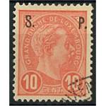 Luxemburg D61 stämplat