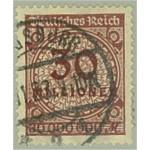 Tyska Riket 320 stämplat