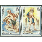 Gibraltar 416-417 **