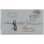 Lösenbrev Stockholm Norr 1872 till Frankrike