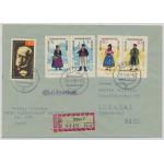 DDR 1074-1079 på brev