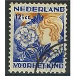 Nederländerna 256A stämplat
